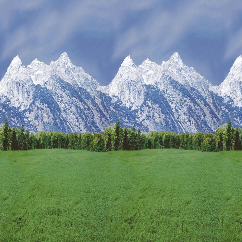 Ella Bella FADELESS MOUNTAINS #56875 фон бумажный горы 1.2х3 м