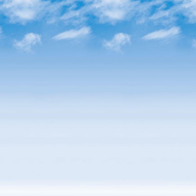 Ella Bella FADELESS WISPY CLOUDS #56935 фон бумажный перистые облака 1.2х15 м
